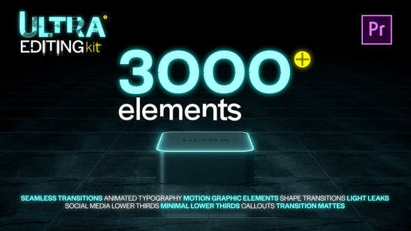 Ultra Editing Kit | Premiere Pro v2