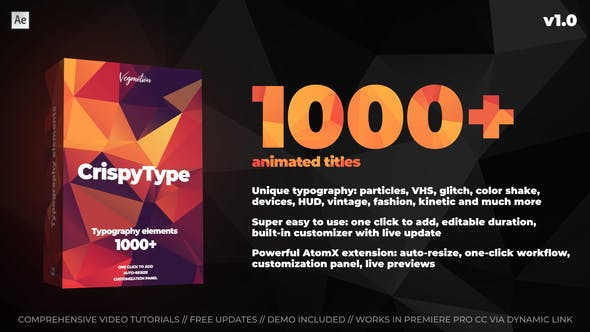 1000+ Titles And Typography