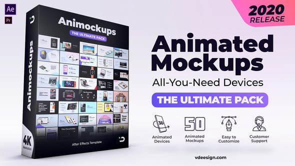 Animated Mockups Ultimate Pack