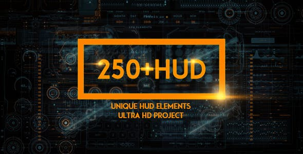 250+ HUD SCI-FI