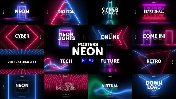 Posters Neon