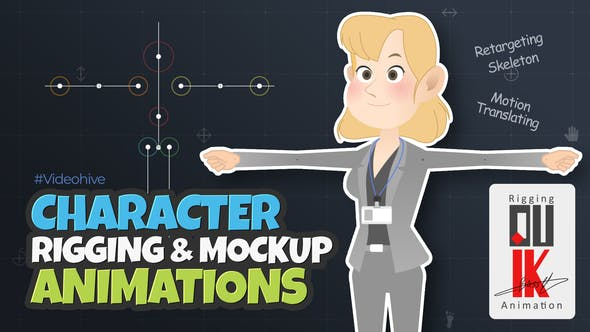 Character Rigging Mock Up Animations