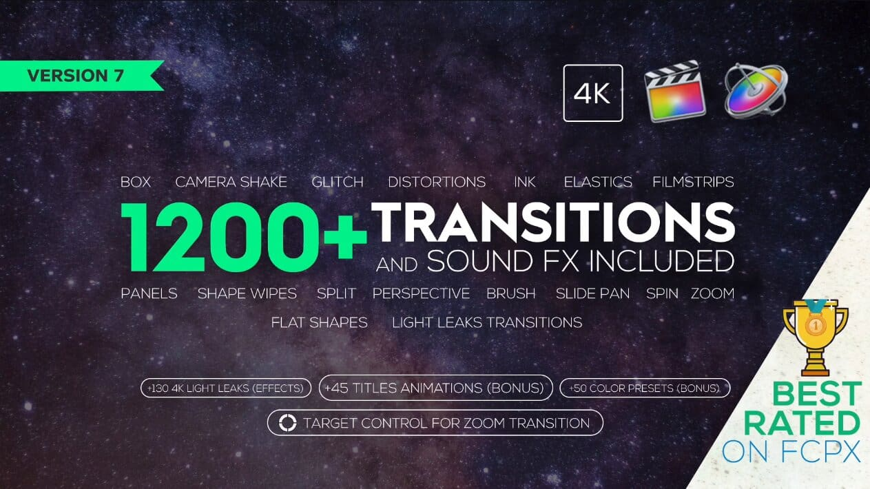 Transitions and Sound FX + Bonus V7