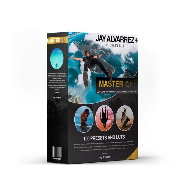 Jaycolor – Master Pack: 100 Presets and LUTs