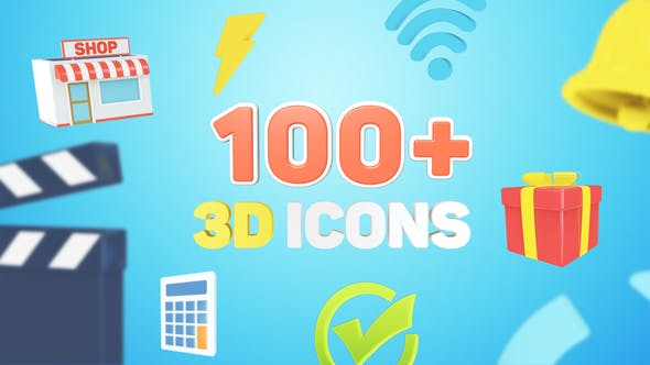 3D Icons for Explainer Video
