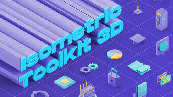 Isometric Toolkit 3D