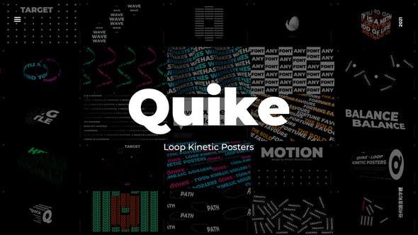Quike – Loop Kinetic Posters