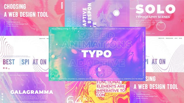 Galagramma typography pack