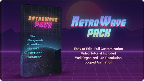 Videohive Retro Wave Pack