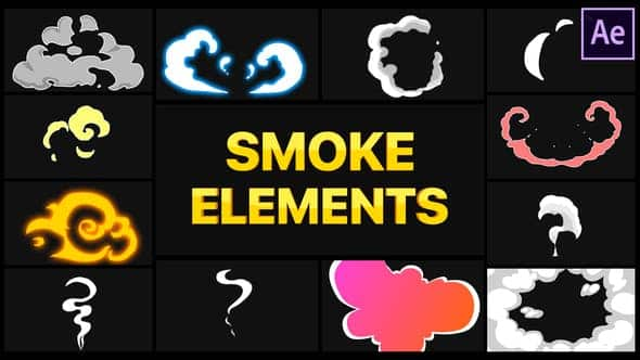 Smoke Elements   After Effects