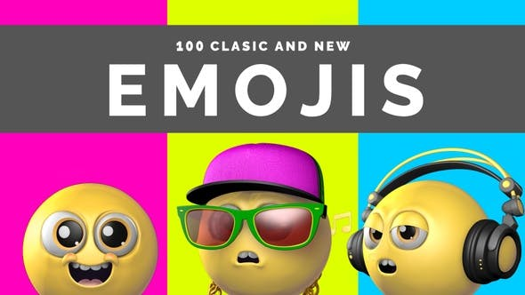 100 Classic And New Emojis