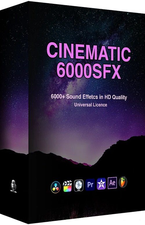 ProfessionalSongs – 6000+ Cinematic SFX Ultimate Bundle