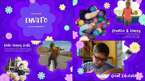 Happy Kids Slideshow || FCPX