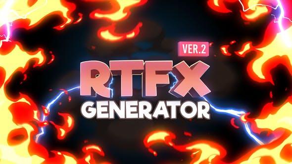 RTFX Generator [1000 FX Elements]