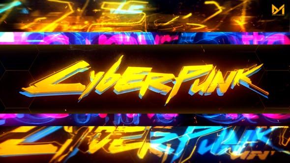 Cyberpunk Logo reveal