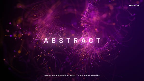 Abstract Particles Titles V2